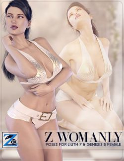 Z Womanly- Poses for Lilith 7 & Genesis 3 Female