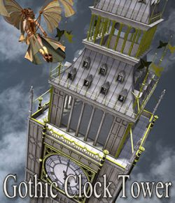 Gothic Clock Tower