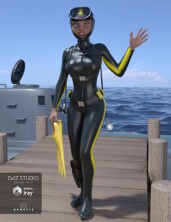 Scuba Diver for Genesis 3 Female(s)