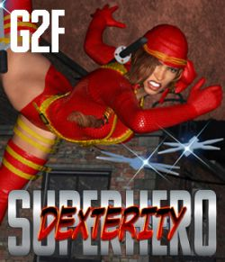 SuperHero Dexterity for G2F Volume 1