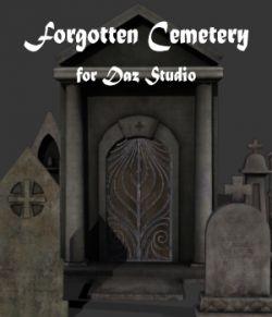 Forgotten Cemetery for Daz Studio