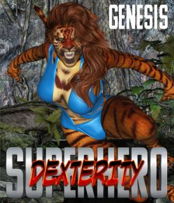 SuperHero Dexterity for Genesis Volume 1