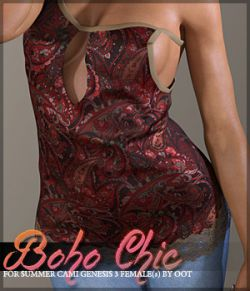 Boho Chic Summer Cami