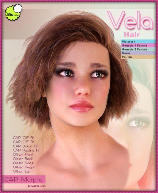 Biscuits Vela Hair