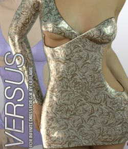 VERSUS- Infinite Dress for Genesis 3 Females