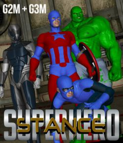 SuperHero Stance for G2M & G3M Volume 1
