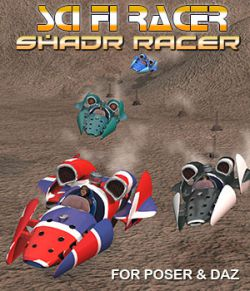 Sci-Fi Vehicle Shadr Racer