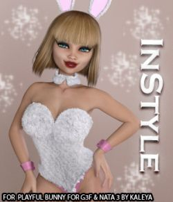 InStyle - Playful Bunny for G3F and Nata 3
