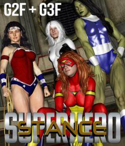 SuperHero Stance for G2F & G3F Volume 1