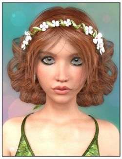 Lorin Hair for Genesis 3 Female(s)