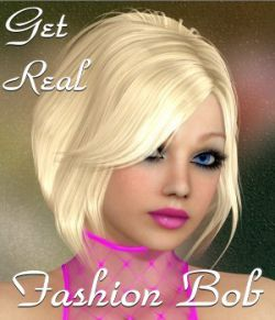 Get Real for Fashion Bob Hair