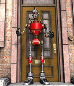 Vintage Robot for Poser
