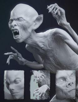 Undead Creature Creator HD Morph Pack for Genesis 3 Female