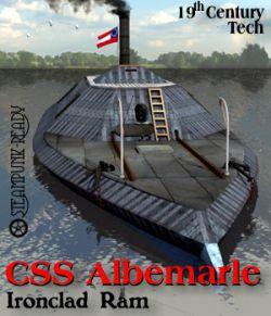 CSS Albemarle Ironclad Ram