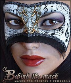 Behind the Mask Genesis 3 Females