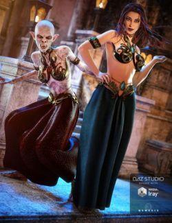 Vampire Queen Outfit Textures
