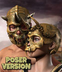 Skull Helmets_for Poser