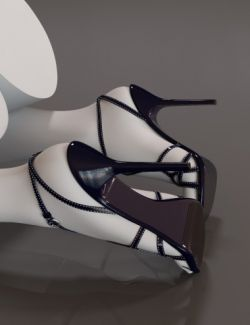 Cocktail Heels for Genesis 3 Female(s)