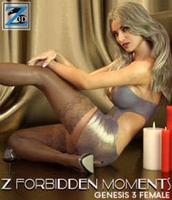 Z Forbidden Moments- Poses for the Genesis 3 Female(s)