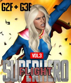SuperHero Flight for G2F & G3F Volume 3