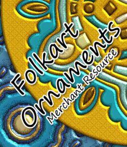 Karanta Folkart Ornaments 1
