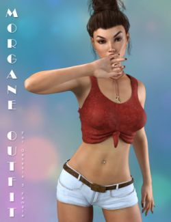 Morgane Outfit for Genesis 3 Female(s)