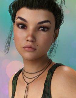 P3D Morgane HD for Genesis 3 Female