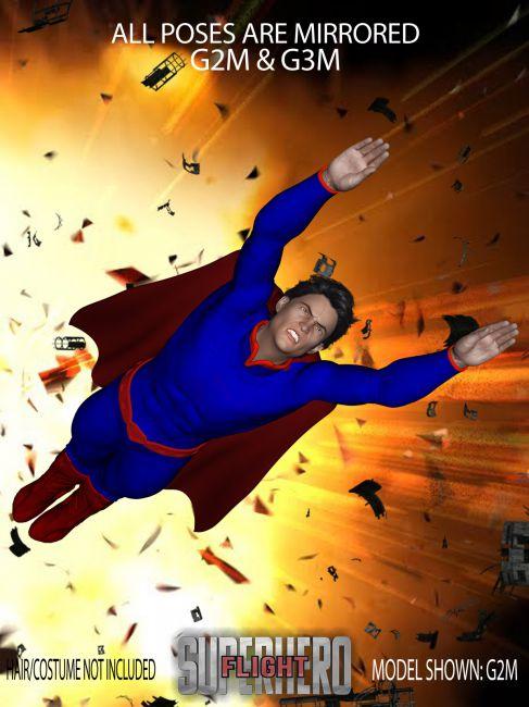 SuperHero Flight for G2M & G3M Volume 3