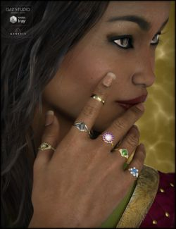 Ring Collection for Genesis 3 Female(s)