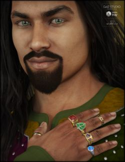 Ring Collection for Genesis 3 Male(s)