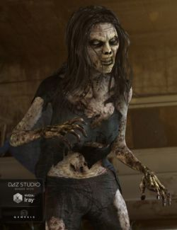 Lucille Zombie for Genesis 3 Female(s)