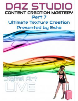 Daz Studio Content Creation Mastery Part 7: Ultimate Texture Creation