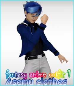 fantasy-anime-outfit 1 _ Asemu clothes_ for G2 & G3