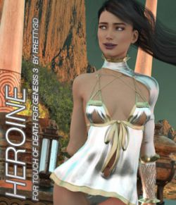 HEROINE- Touch of Death for Genesis 3 Female(s)