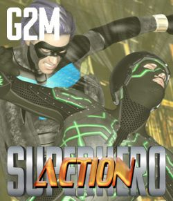 SuperHero Action for G2M Volume 1