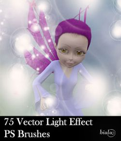 75 Vector Light Effect PS Brushes