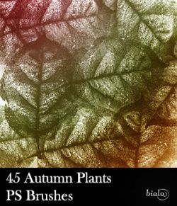 45 Autumn Plants PS Brushes