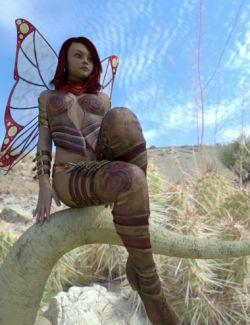 Fairy Scale IBL- Desert Dweller HDRI Environments