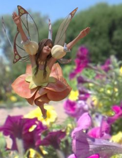 Fairy Scale IBL- Flower Fairy HDRI Environments