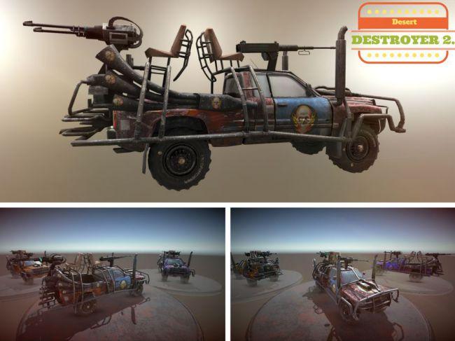 Desert Destroyer 2.