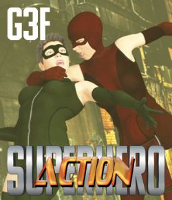 SuperHero Action for G3F Volume 1