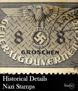Historical Details Nazi Stamps