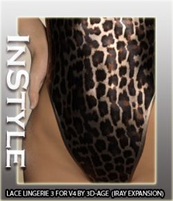 InStyle- Lace Lingerie III- IRAY ONLY