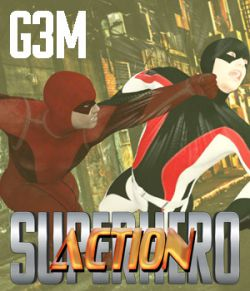 SuperHero Action for G3M Volume 1