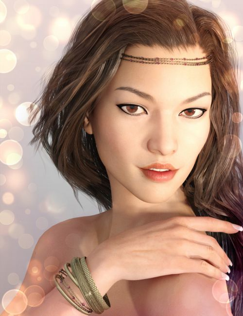 X-Fashion Head Chains for Genesis 3 Female(s)