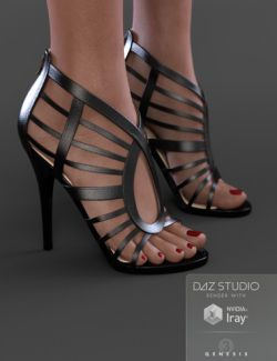 Megan Heels for Genesis 3 Female(s)