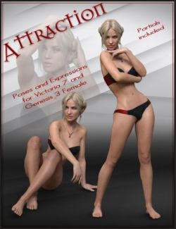 Attraction Poses for Genesis 3 Female and Victoria 7
