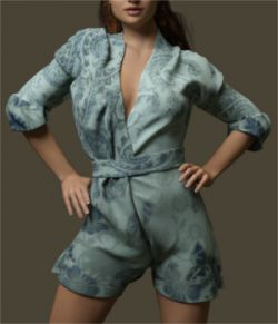 Comfy Romper for Genesis 3 Female(s)