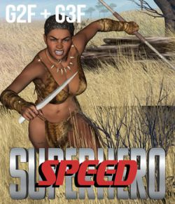 SuperHero Speed for G2F & G3F Volume 1