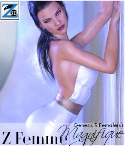 Z Femme Magnifique- Poses for the Genesis 3 Female(s)